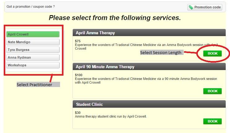 Online Booking Tutorial